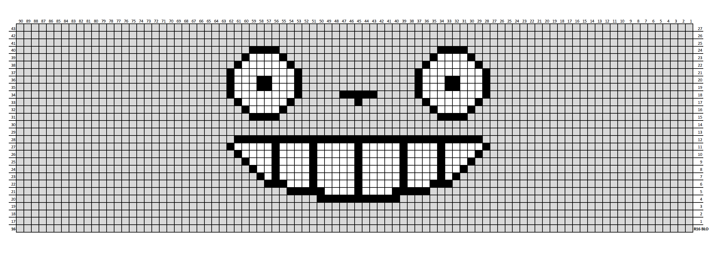 gray totoro chart