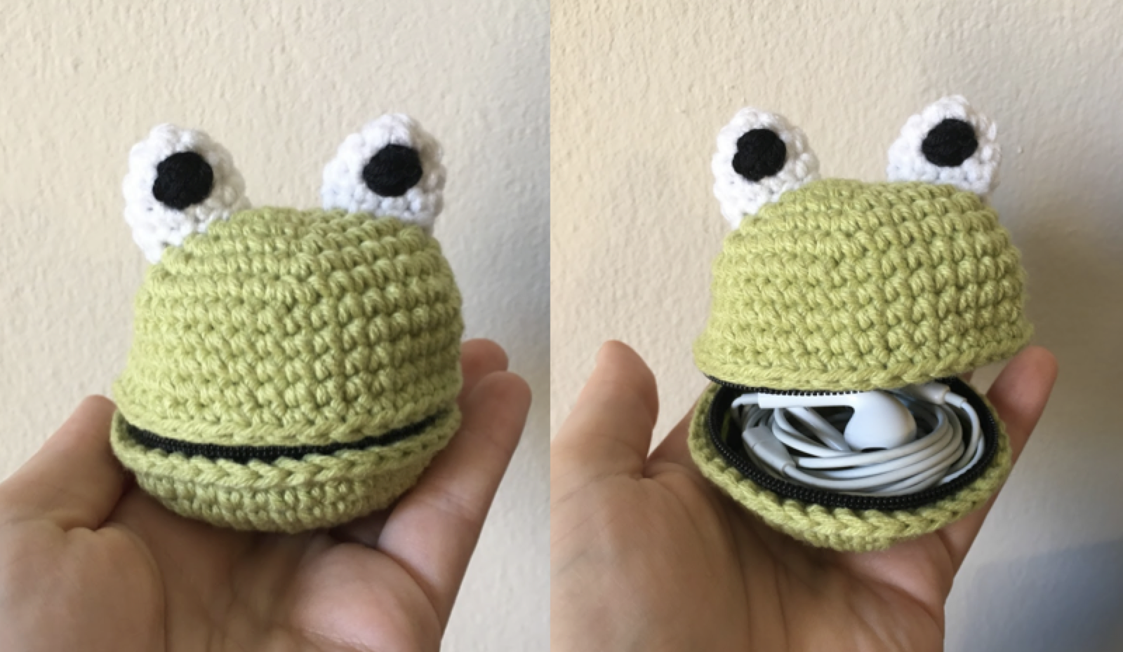 froggy pouch front