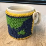 World Map Mug Cozy